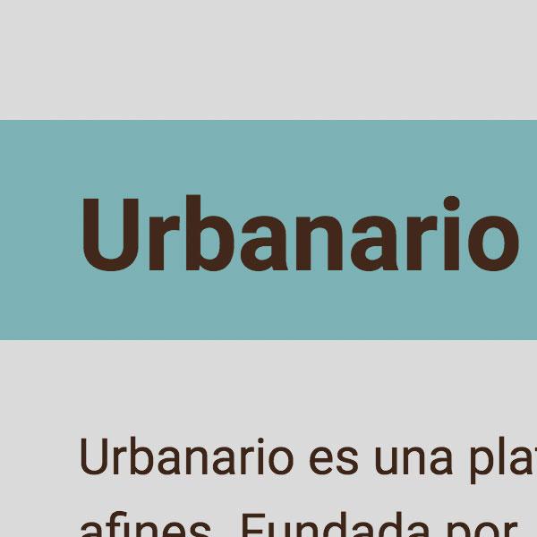 Urbanario